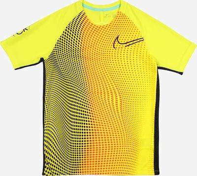 NIKE Functioneel shirt in de kleur Geel / Rood / Zwart / Wit, Productweergave