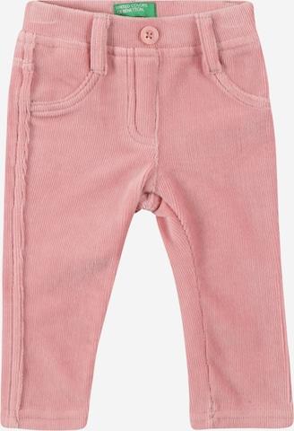Pantalon UNITED COLORS OF BENETTON en rose