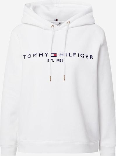 TOMMY HILFIGER Sweatshirt i navy / brandrød / hvid, Produktvisning