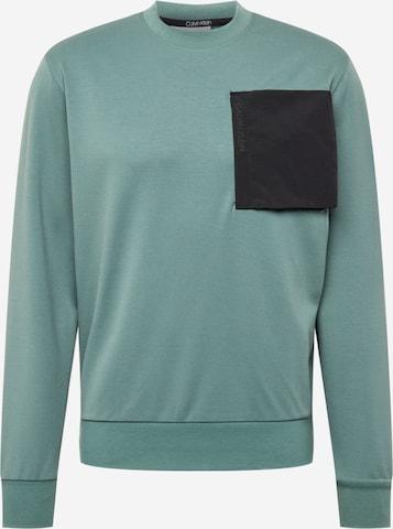 Sweat-shirt Calvin Klein en vert