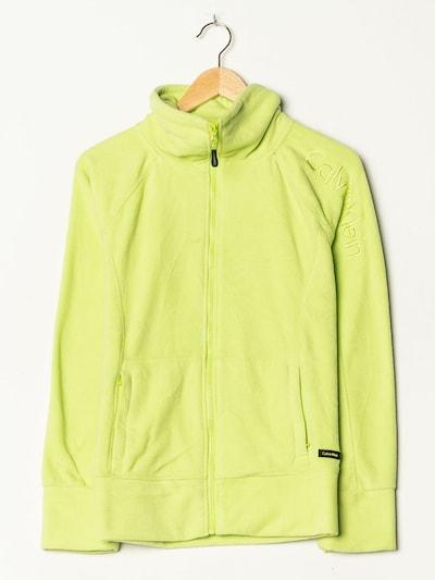 Calvin Klein Fleece in L-XL in neongrün, Produktansicht