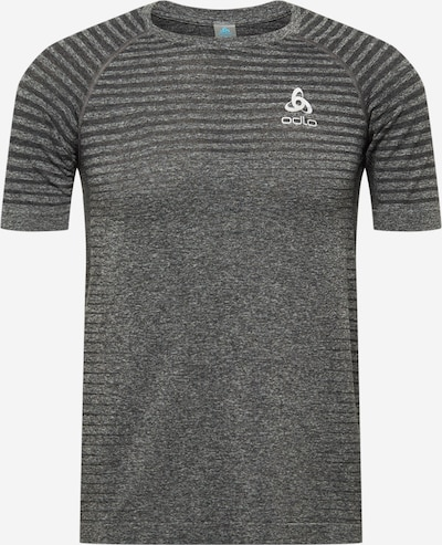 ODLO Sportshirt in grau / dunkelgrau / weiß, Produktansicht
