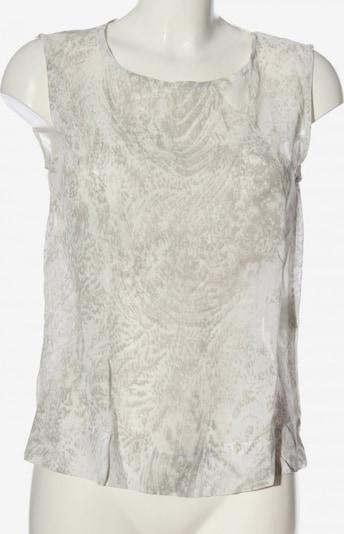 Bandolera ärmellose Bluse in L in hellgrau / weiß, Produktansicht
