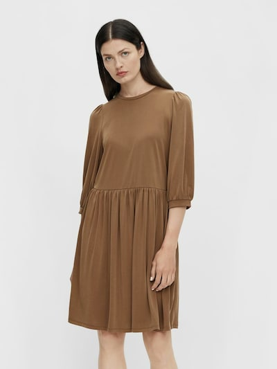 OBJECT Šaty 'Annie' - karamelová, Model/-ka