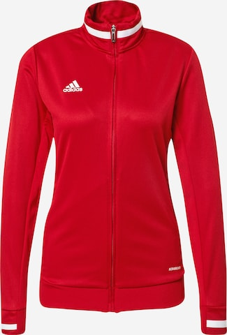 ADIDAS PERFORMANCE Athletic Jacket 'Team 19' in Red