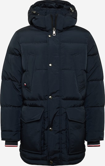 TOMMY HILFIGER Winter parka in dark blue / melon / white, Item view