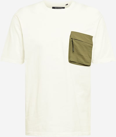 SHINE ORIGINAL T-Shirt en kaki / blanc cassé, Vue avec produit