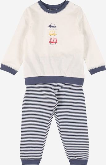 Pijamale OVS pe albastru / alb, Vizualizare produs