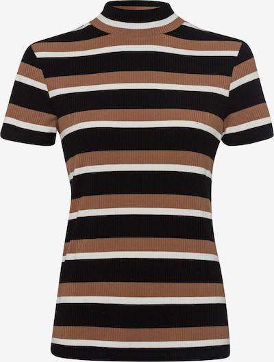 zero Shirt in beige / schwarz / weiß, Produktansicht