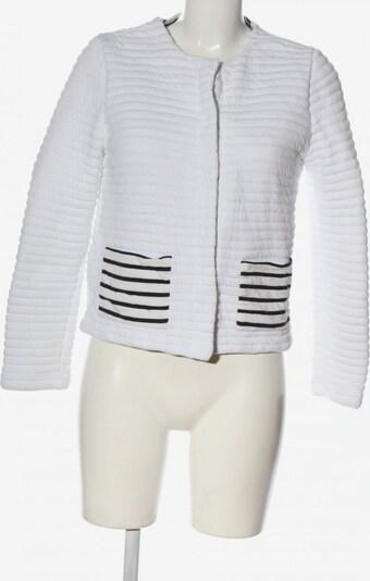 PETIT BATEAU Strickblazer in M in weiß, Produktansicht