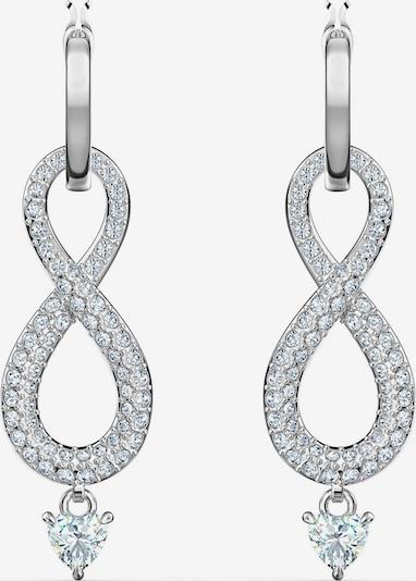 Swarovski Ohrringe 'Unendlichkeitsschleife' in silber, Produktansicht
