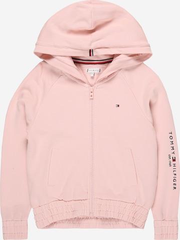 rozā TOMMY HILFIGER Sportiska jaka