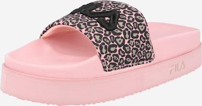 FILA Strand-/badsko 'Morro Bay Zeppa' i rosa / svart, Produktvy