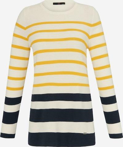 Emilia Lay Pullover mit Rundhals-Ausschnitt in ecru / mischfarben, Produktansicht