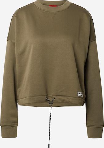 HUGO Sweatshirt 'Daluise' in Grün