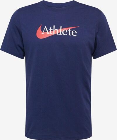NIKE Funkční tričko - námořnická modř / lososová / bílá, Produkt