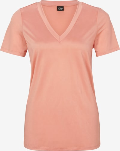 s.Oliver BLACK LABEL Shirt in koralle, Produktansicht