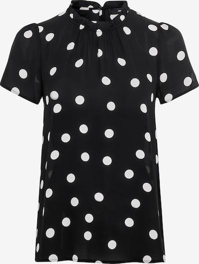 HALLHUBER Bluse in schwarz / weiß, Produktansicht