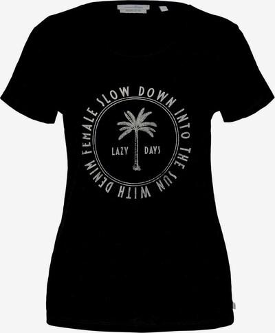 TOM TAILOR DENIM Shirt in Black / White, Item view