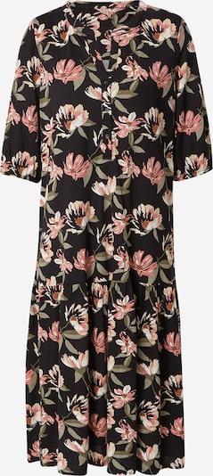 Soyaconcept Kleid 'FELICITY' in oliv / mint / rosé / schwarz / weiß, Produktansicht