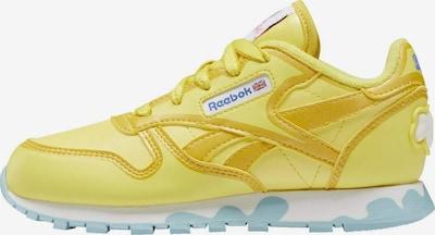 Reebok Classics Sneaker 'Peppa Pig' in royalblau / goldgelb / limone / weiß, Produktansicht
