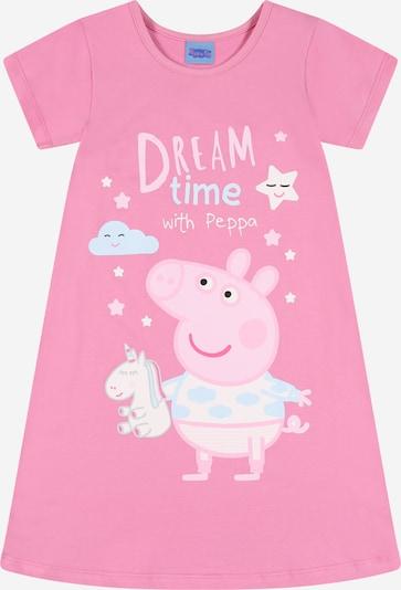 Peppa Pig Nachthemd in hellblau / pink / hellpink / weiß, Produktansicht