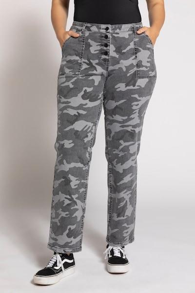 Ulla Popken Jeans in mischfarben, Modelansicht
