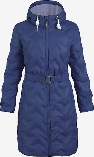 Dingy Rhythm Of The Rain Tussenjas 'Regenmantel' in de kleur Blauw, Productweergave