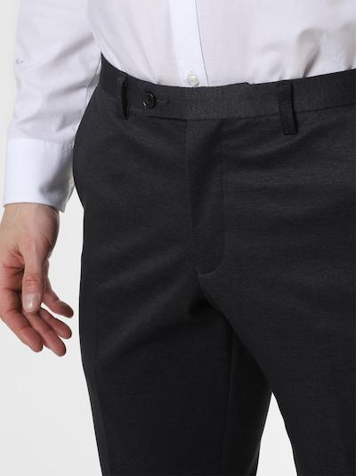 Finshley & Harding London Baukasten-Anzug Hose in anthrazit, Produktansicht