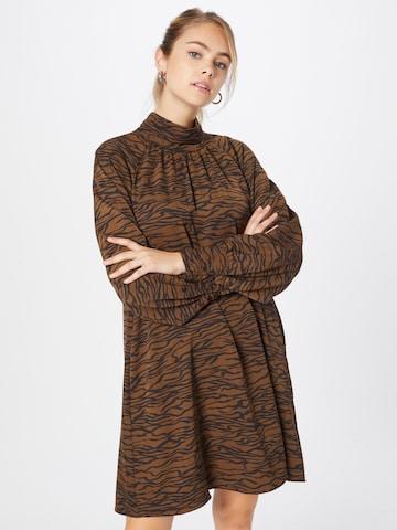 Gestuz Kleid 'Sigrid' in Braun