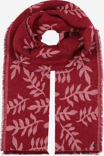 ESPRIT Sjaal in de kleur Karmijnrood / Wit, Productweergave