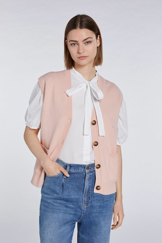SET Knitted Vest in Pink