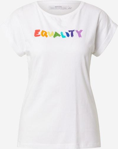 DEDICATED. Camiseta 'Visby' en mezcla de colores / offwhite, Vista del producto