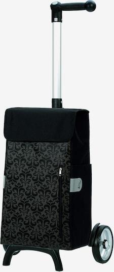 Andersen Shopper Einkaufstrolley 'Unus Shopper Fun Diva' 58 cm in grau / schwarz, Produktansicht