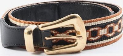 MANGO Canvasgürtel in XS-XL in braun / schwarz / wollweiß, Produktansicht