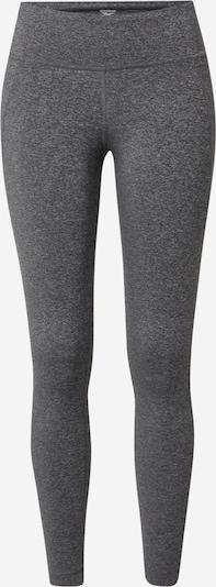 Reebok Sport Pantalon de sport 'Lux' en gris chiné, Vue avec produit