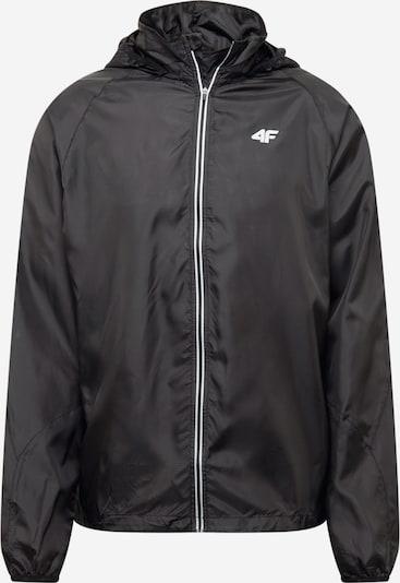 4F Sportovní bunda - černá / bílá, Produkt