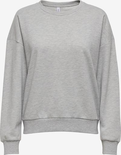 ONLY Sweatshirt 'ONLDREAMER' in hellgrau, Produktansicht