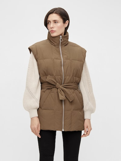OBJECT Vest 'Angea' in Brown, View model