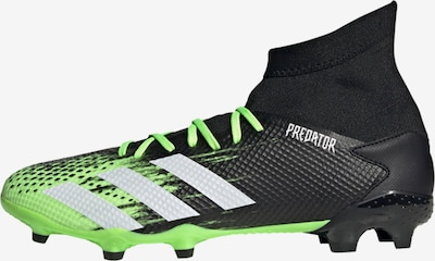 ADIDAS PERFORMANCE Fußballschuh 'Predator Mutator 20.3 FG' in grün / schwarz: Frontalansicht