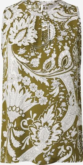 Emily Van Den Bergh Top in khaki / weiß, Produktansicht