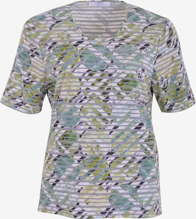 Navigazione Shirt in grau / grün / mint / weiß, Produktansicht
