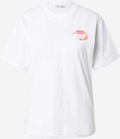 Stella Nova Shirt 'Teresa' in pink / weiß, Produktansicht