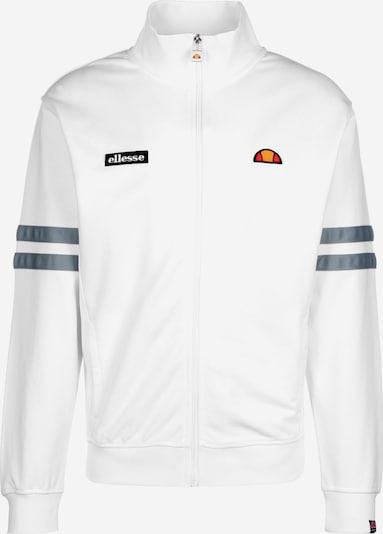 ELLESSE Trainingsjacke in weiß, Produktansicht