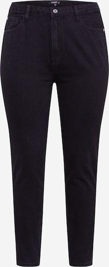 Missguided Plus Vaquero 'RIOT' en negro denim, Vista del producto