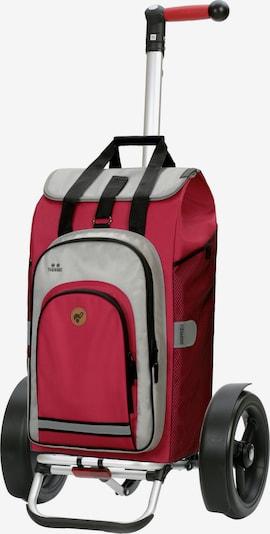 Andersen Shopper Einkaufstrolley 'Tura Shopper Hydro 2.0' in grau / rot / schwarz, Produktansicht