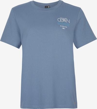 O'NEILL T-Shirt 'Pacific Ocean' in rauchblau / aqua / weiß, Produktansicht