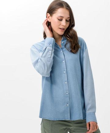 BRAX Bluse 'Vivian' in Blau