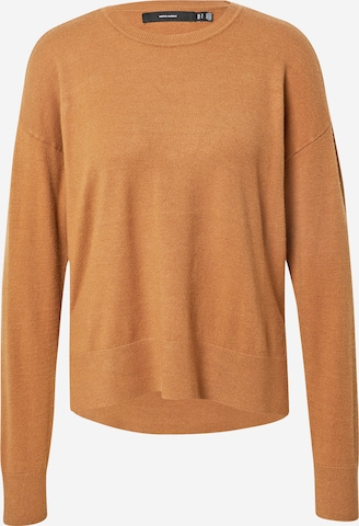 VERO MODA Sweater 'KARIS' in Brown
