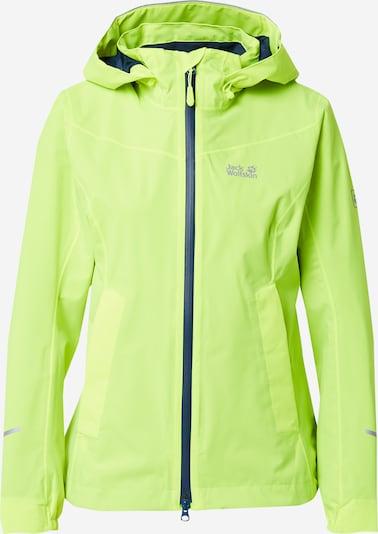 JACK WOLFSKIN Zunanja jakna | neonsko zelena barva, Prikaz izdelka